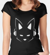 Furry EDM Women's Fitted Scoop T-Shirt