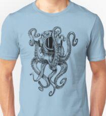 Octopus Scuba Diver Helmet T-Shirt