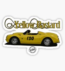 DLEDMV - Yellow Bastard Sticker