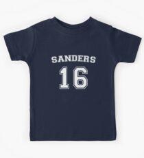 Sanders 16 (White) Kids Tee