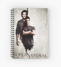 Supernatural 1 Spiral Notebook