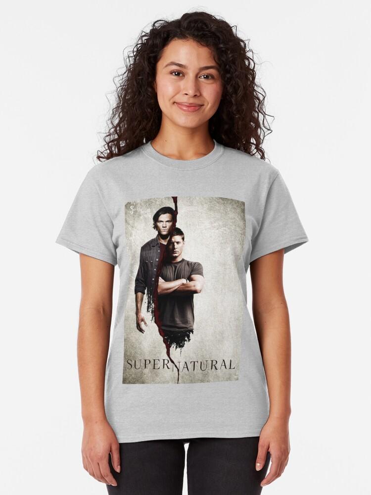 Alternate view of Supernatural 1 Classic T-Shirt