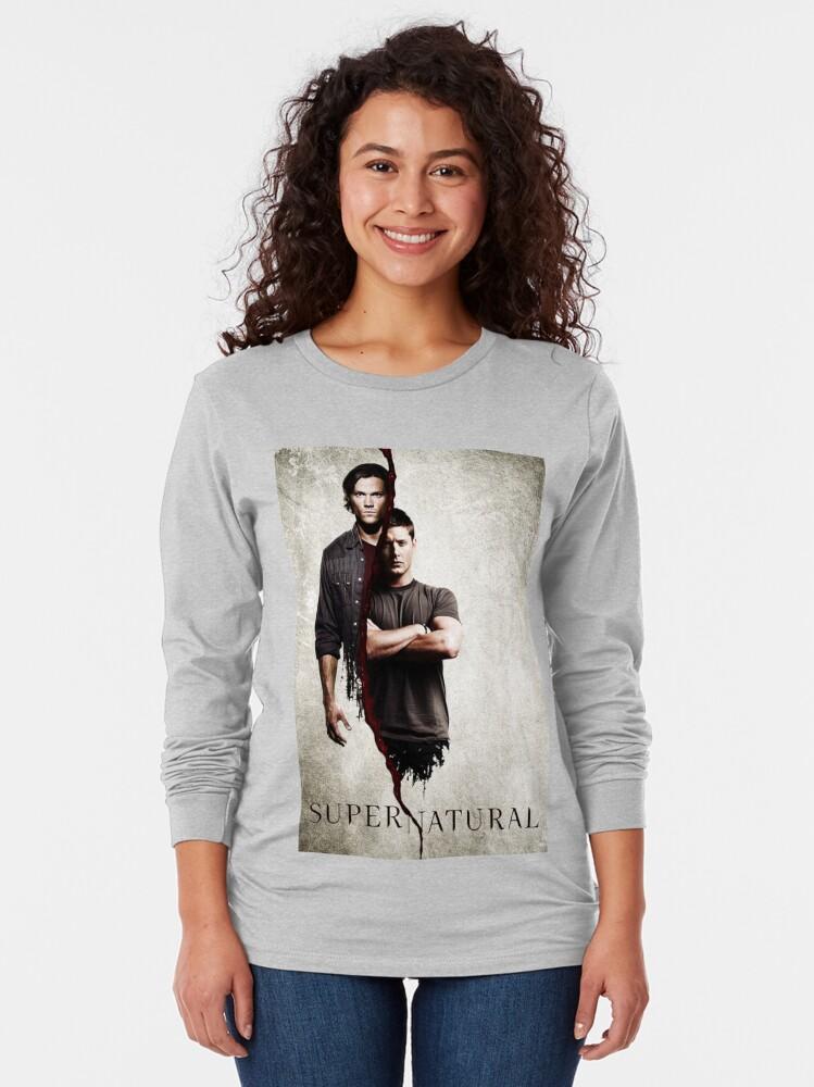 Alternate view of Supernatural 1 Long Sleeve T-Shirt