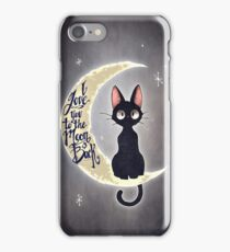 I love you to the moon & back iPhone Case/Skin