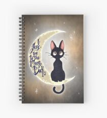 I love you to the moon & back Spiral Notebook