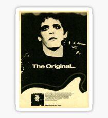 Lou Reed The Originial Sticker