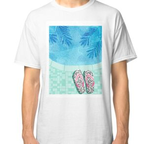 Go time swimming retro pool resort oasis palm springs for T shirt city palm springs