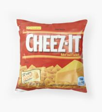 Cheez-Its Throw Pillow
