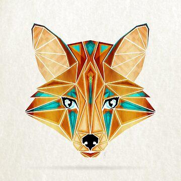 Blue fox by Manoou