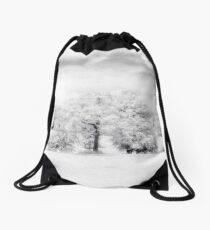 Infrared Tree Drawstring Bag
