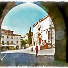 Teramo: arche and cathedral by Giuseppe Cocco