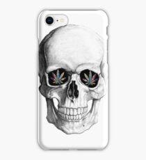 Weed Skeleton iPhone Case/Skin