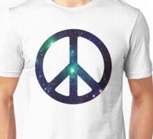 Nebula Peace Sign. 2 Unisex T-Shirt