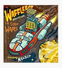 Wafflebot! Photographic Print