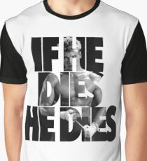 Ivan Drago T-Shirt (If he dies, he dies) Graphic T-Shirt