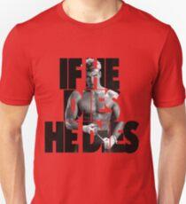 Ivan Drago T-Shirt (Wenn er stirbt, stirbt er) Slim Fit T-Shirt