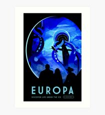 Visions of the future- Europa Art Print