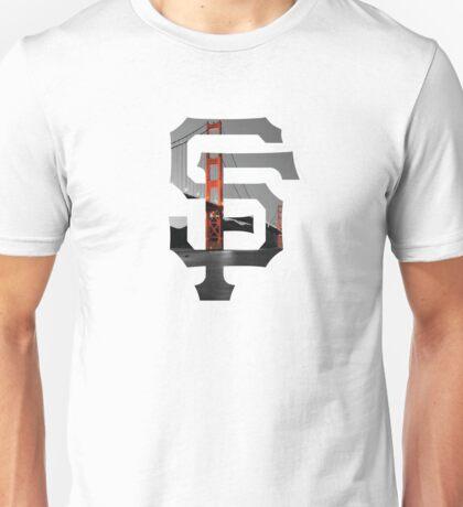 SF Giants White Unisex T-Shirt