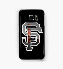 SF Giants Black Samsung Galaxy Case/Skin