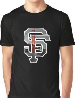 SF Giants Black Graphic T-Shirt