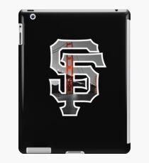 SF Giants Black iPad Case/Skin
