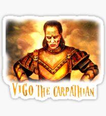 vigo the carpathian- Ghostbusters Sticker