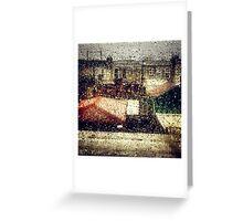 Rain Water Greeting Card