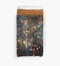 Aspen Leaves Duvet Cover