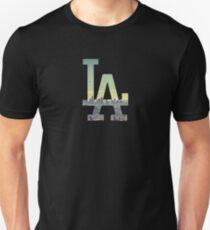 LA Dodgers Black Renewed Unisex T-Shirt