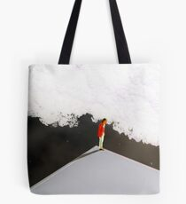 Jump or not to jump  Tote Bag