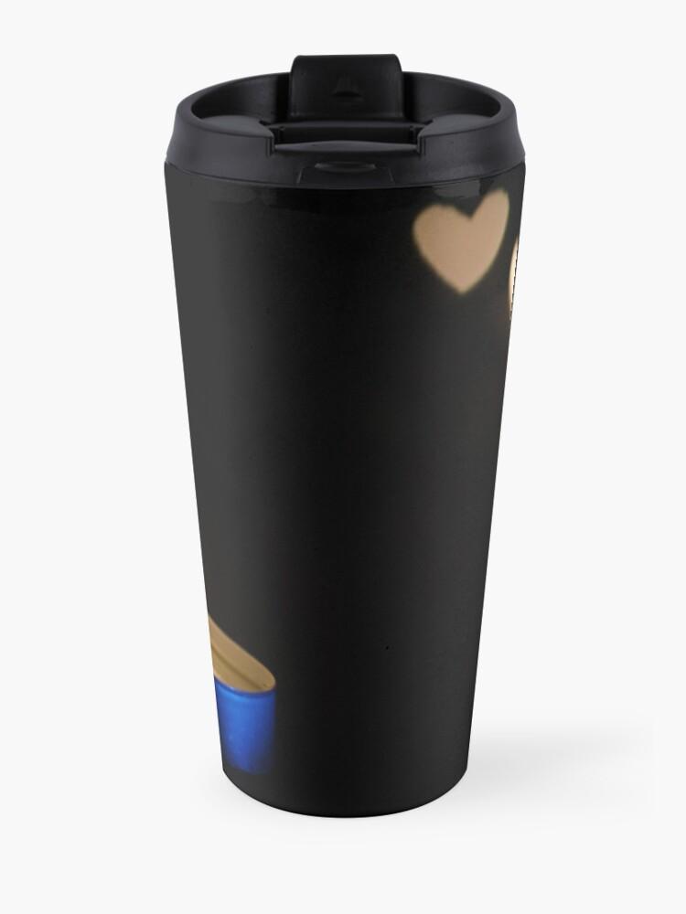 Alternate view of Burning Love Travel Mug