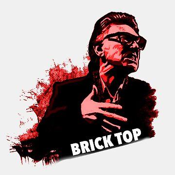 Brick Top T-Shirt  by rdbbbl