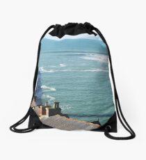 Porthleven Surf Drawstring Bag
