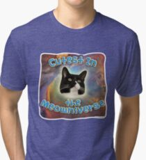 Cutest Meowniverse Tri-blend T-Shirt