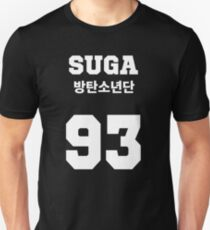 BTS - Suga Jersey Style Unisex T-Shirt
