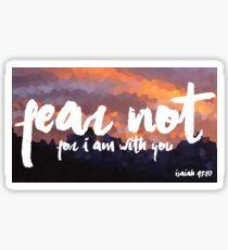 Isaiah 41:10  Sticker