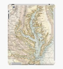 Vintage Map of The Chesapeake Bay (1778) 2 iPad Case/Skin