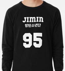 BTS - Jimin Jersey Style Lightweight Sweatshirt