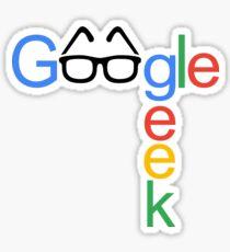 Google Geek Sticker