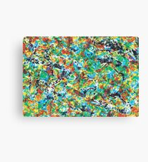 Vibrance cool, trendy modern abstract painting art design Canvas Print