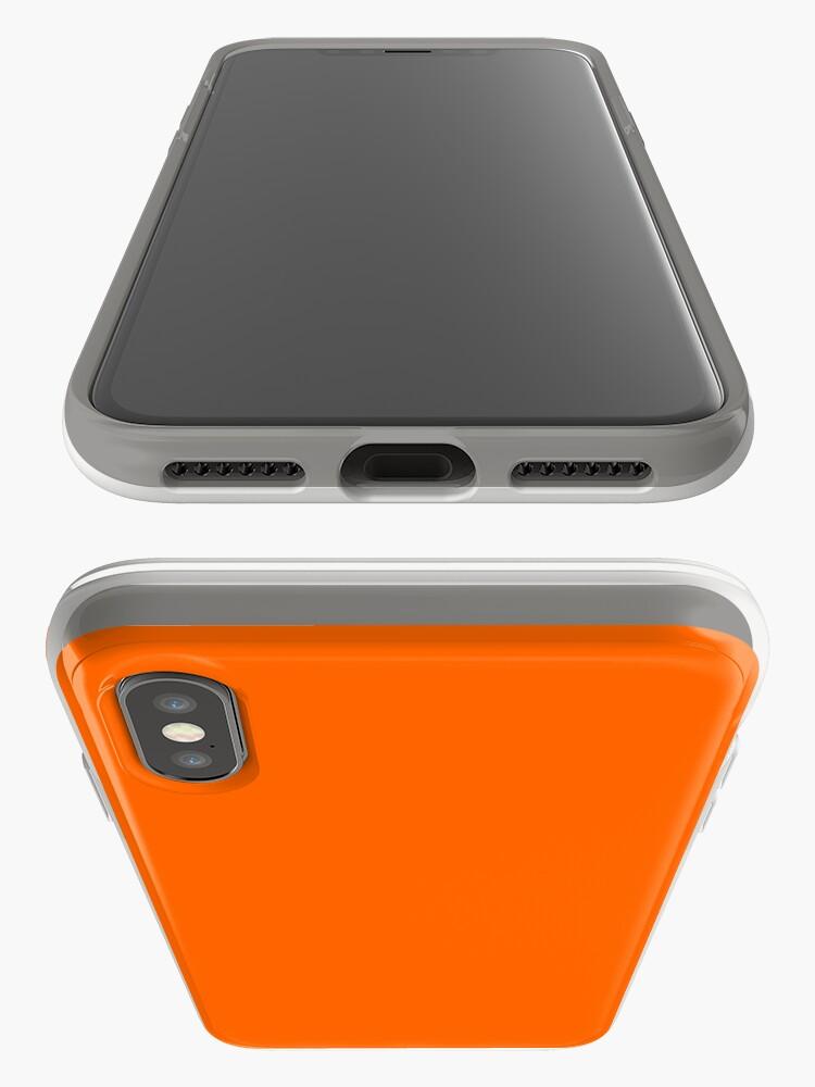Alternative Ansicht von Blaze Orange iPhone-Hülle & Cover