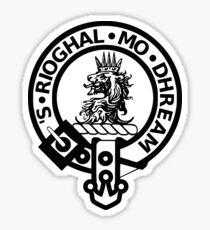 The MacGregor Clan symobol print Sticker