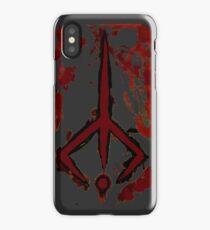 Bloodborne hunters sign  iPhone Case