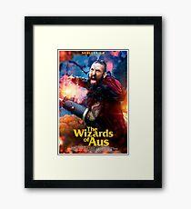 The Wizards of Aus ~ Skulldrich Poster Framed Print