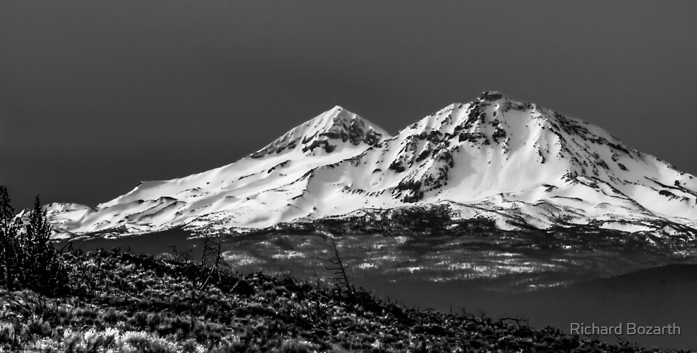 Two of the Three Sisters MT.s by Richard Bozarth