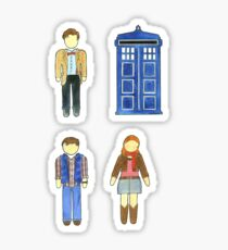Doctor Who 11 Characters - Set #4 Sticker