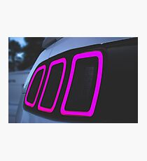 2013 Mustang Gt Tail Light Photographic Print