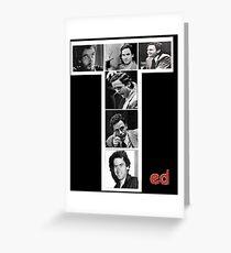 Ted Bundy Serial Killer Greeting Card