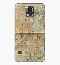 Vintage Map of Ottawa Canada (1894) Case/Skin for Samsung Galaxy