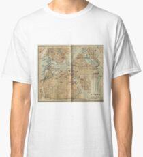Vintage Map of Ottawa Canada (1894) Classic T-Shirt